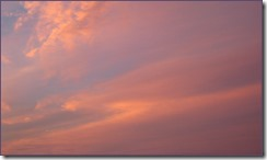Sky cropped border