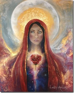 Mary Magdalene - artist Linzy Huggon