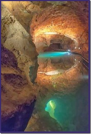 InnerPathWisdom.com - Blue Mountains of Australia Jenolan Cave - artist not known, please inform
