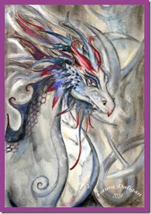 Ancient Wisdom Chronicles - Dragon -- artist - LauraDeligan-art.com