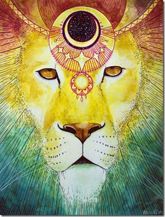 artist - anneliesolis.com - Lion Wears the Crown