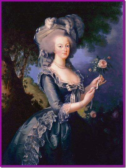 Queen Marie Antoineette, goddess