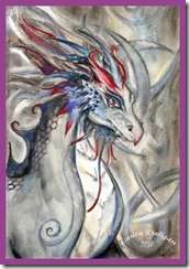 InnerPathWisdom.com - Ancient Wisdom Chronicles - Dragon -- artist - LauraDeligan-art
