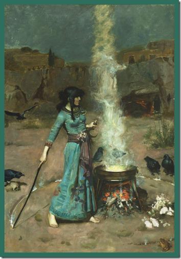 artist - John Waterhouse - The Magic Circle