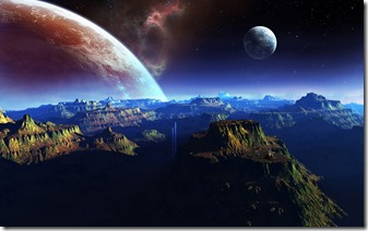 200326 - Earth Sojourn - 6920957-fantasy-planet-space-art